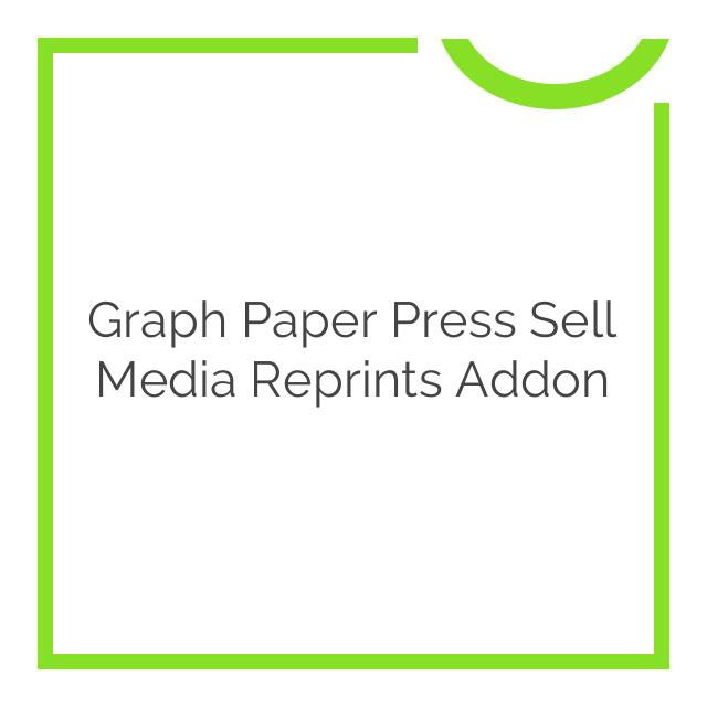 Graph Paper Press Sell Media Reprints Addon 2.1.9