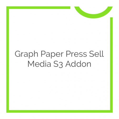 Graph Paper Press Sell Media S3 Addon 2.1.4