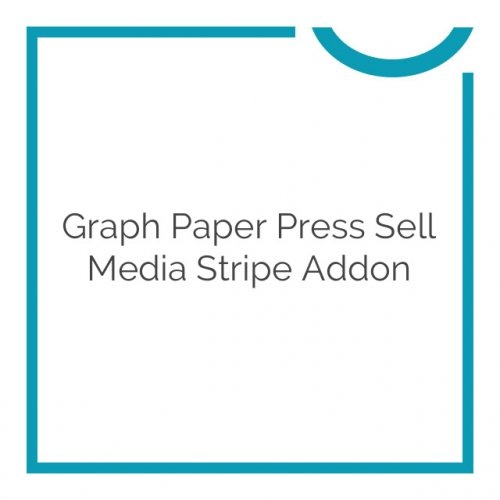 Graph Paper Press Sell Media Stripe Addon 2.1.7