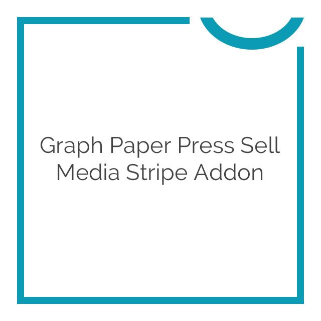 Graph Paper Press Sell Media Stripe Addon 2.1.7