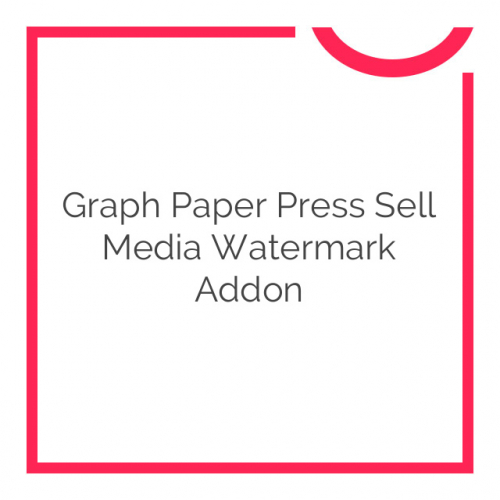Graph Paper Press Sell Media Watermark Addon 2.0.4