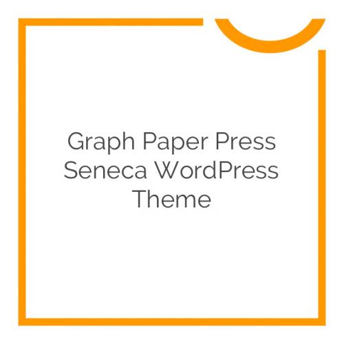 Graph Paper Press Seneca WordPress Theme 1.2.7