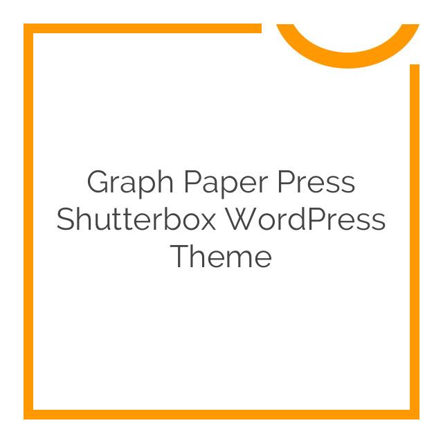 Graph Paper Press Shutterbox WordPress Theme 1
