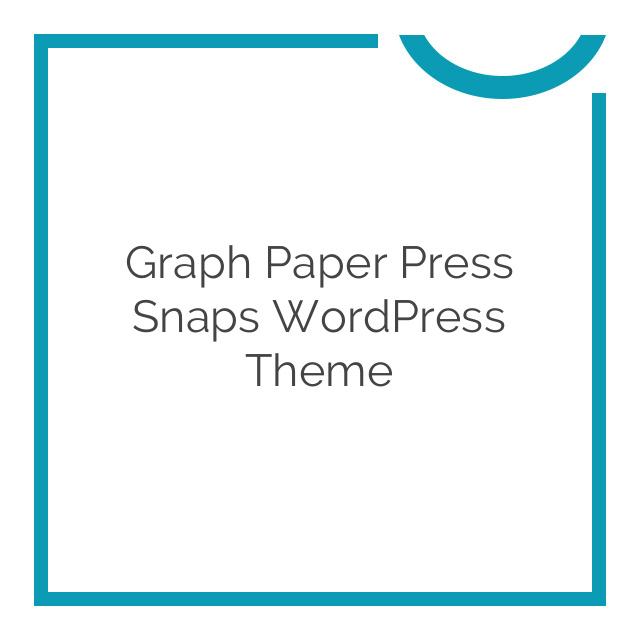 Graph Paper Press Snaps WordPress Theme 1.0.4