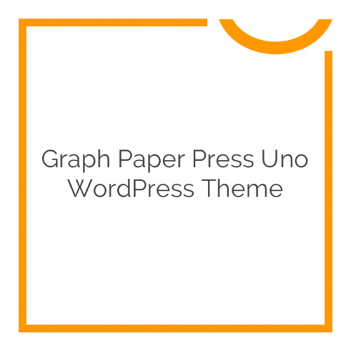Graph Paper Press Uno WordPress Theme 3.0.2