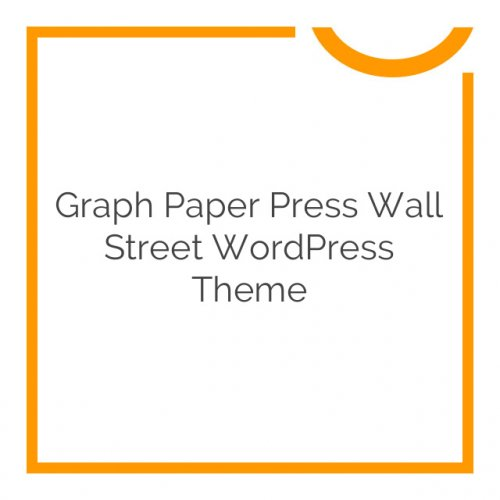 Graph Paper Press Wall Street WordPress Theme 1.1.10