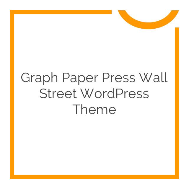 Graph Paper Press Wall Street WordPress Theme 1.1.10