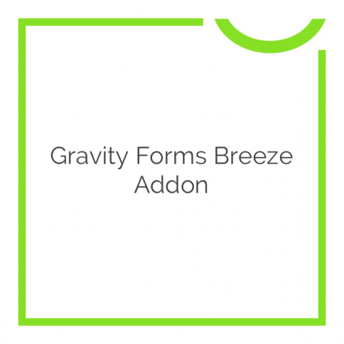 Gravity Forms Breeze Addon 1.2