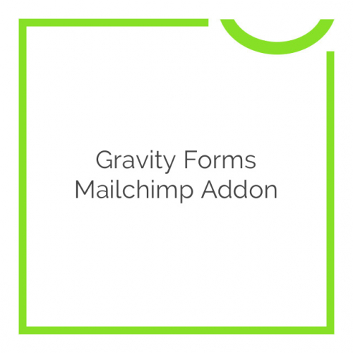 Gravity Forms Mailchimp Addon 4.2.4