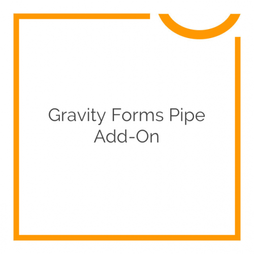 Gravity Forms Pipe Add-On 1.0.1