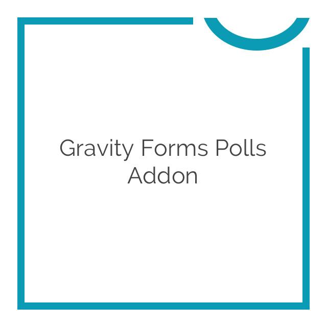 Gravity Forms Polls Addon 3.1.2