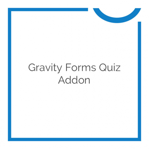 Gravity Forms Quiz Addon 3.1.6