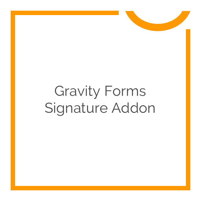 Gravity Forms Signature Addon 3.3.2