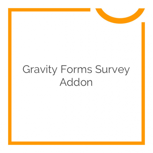 Gravity Forms Survey Addon 3.2.1