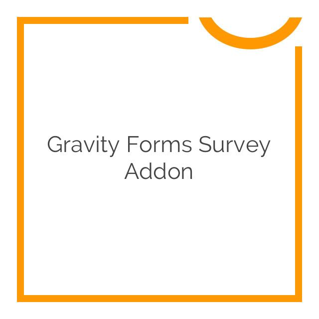 Gravity Forms Survey Addon 3.2.1