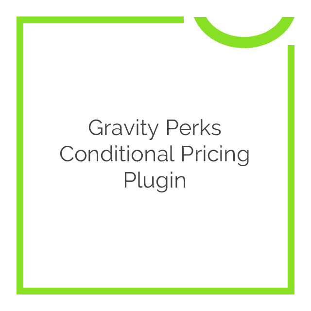 Gravity Perks Conditional Pricing Plugin 1.2.36