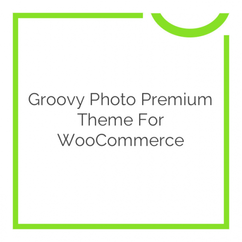 Groovy Photo Premium Theme for WooCommerce 1.7.1