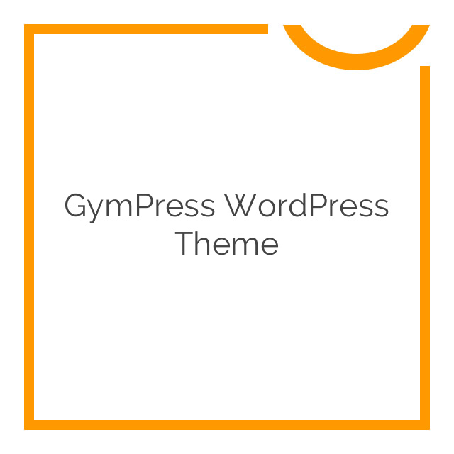 GymPress WordPress Theme 1.1.1