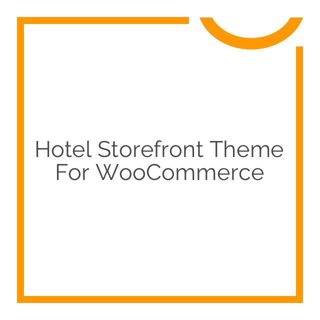 Hotel Storefront Theme for WooCommerce 1.0.7