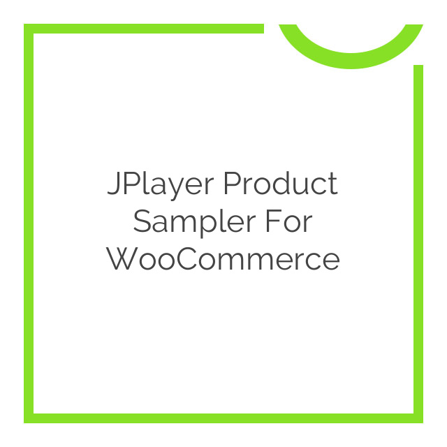 jPlayer Product Sampler for WooCommerce 1.4.1