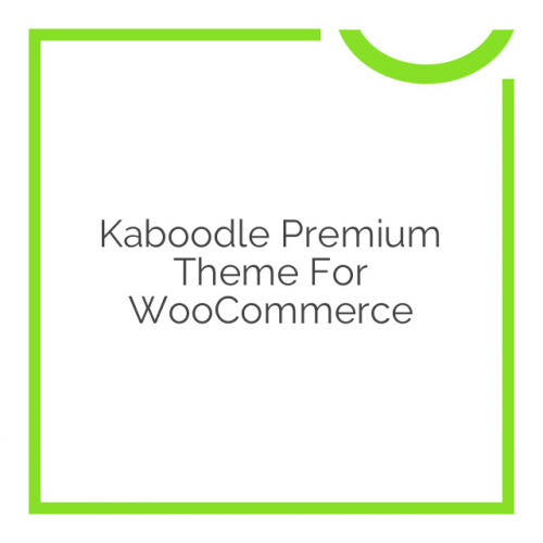 Kaboodle Premium Theme for WooCommerce 1.7.5