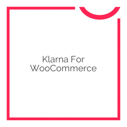 Klarna for WooCommerce 2.5.4