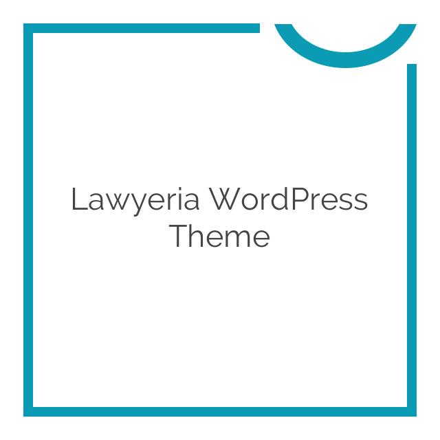 Lawyeria WordPress Theme 1.3.8