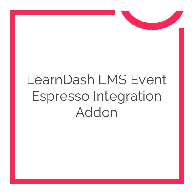 LearnDash LMS Event Espresso Integration Addon 1.0.2
