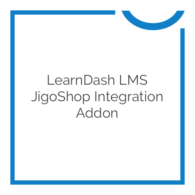 LearnDash LMS JigoShop Integration Addon 1.1.0