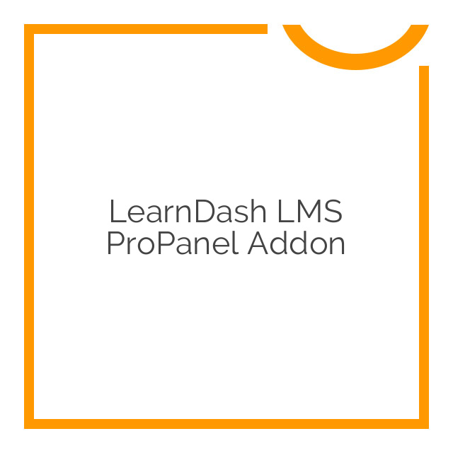 LearnDash LMS ProPanel Addon 2.1.2