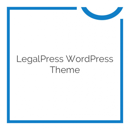 LegalPress WordPress Theme 1.1.30
