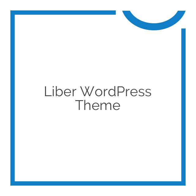 Liber WordPress Theme 1.0.4