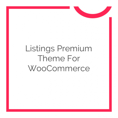 Listings Premium Theme for WooCommerce 1.6.6