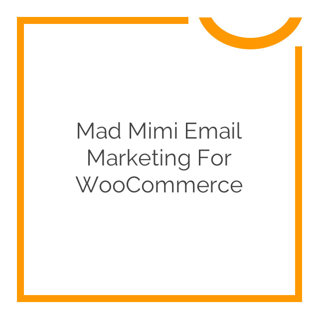 Mad Mimi Email Marketing for WooCommerce 1.2.1