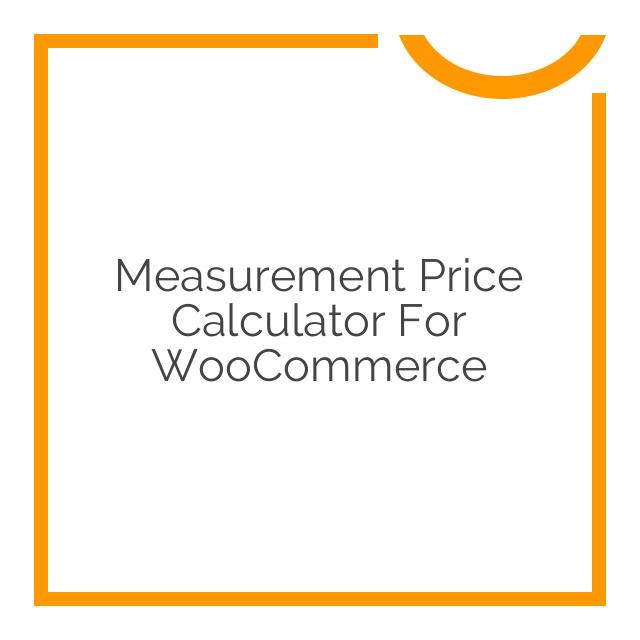 Measurement Price Calculator for WooCommerce 3.12.8