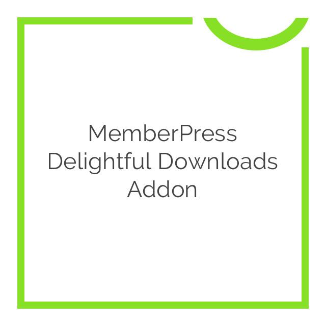 MemberPress Delightful Downloads Addon 1.0.2
