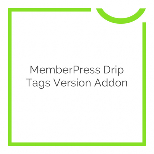 MemberPress Drip Tags Version Addon 1.0.1