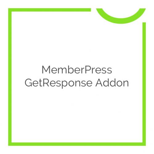 MemberPress GetResponse Addon 1.0.4