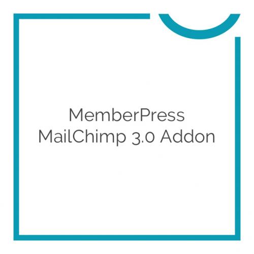 MemberPress MailChimp 3.0 Addon 1.1.6