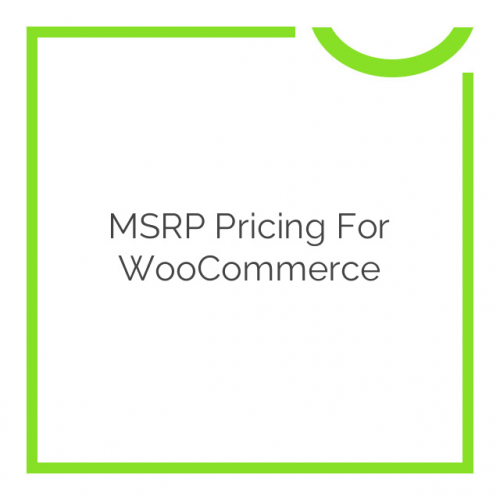 MSRP Pricing for WooCommerce 2.9.5