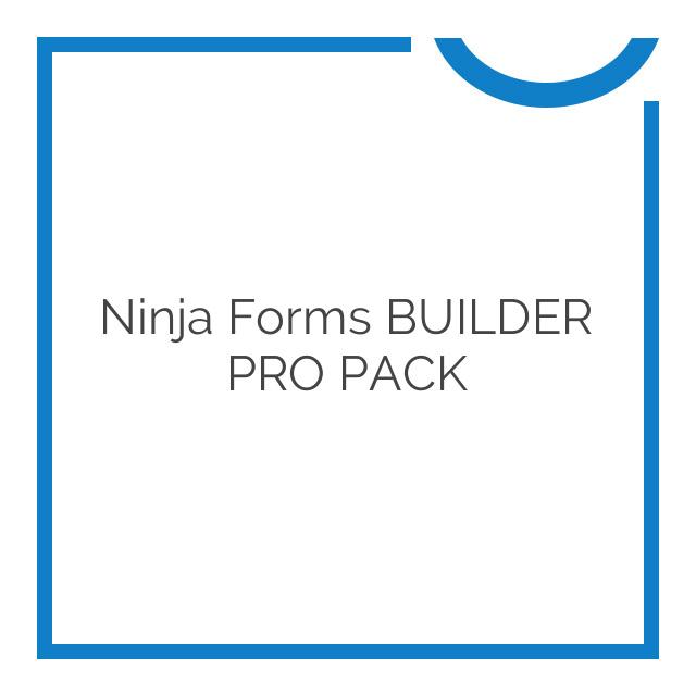 Ninja Forms BUILDER PRO PACK