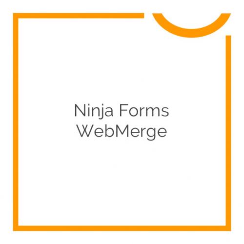 Ninja Forms WebMerge 3.0.2