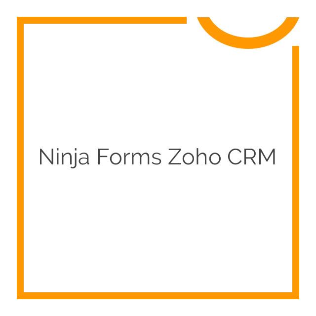 Ninja Forms Zoho CRM 3.0.2