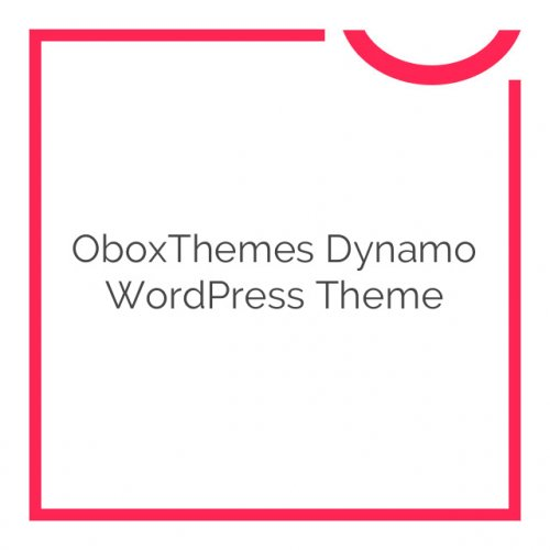 OboxThemes Dynamo WordPress Theme 1.6.4