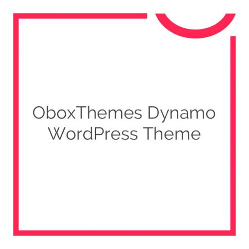 OboxThemes Dynamo WordPress Theme 1.6.4