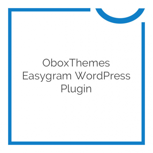 OboxThemes Easygram WordPress Plugin 1.0.1