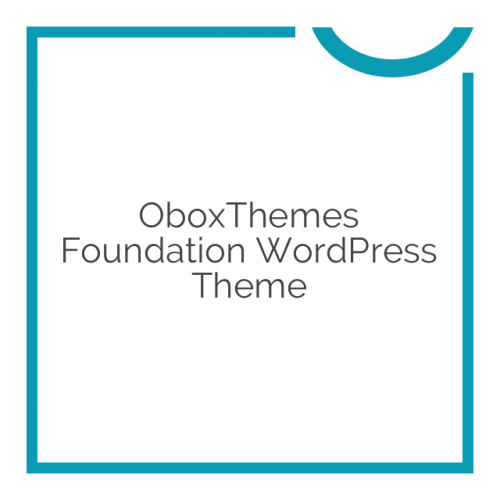 OboxThemes Foundation WordPress Theme 1.1.6