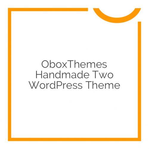 OboxThemes Handmade Two WordPress Theme 2.2.2