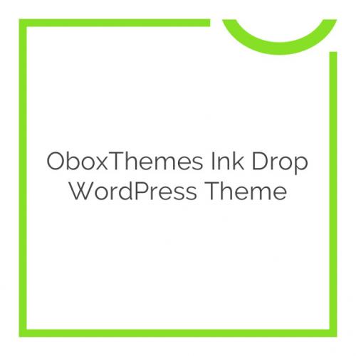 OboxThemes Ink Drop WordPress Theme 1.1.3