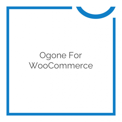 Ogone for WooCommerce 1.9.0